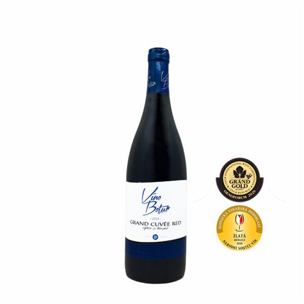 Grand cuvée red 2015, výběr z hroznů